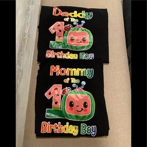 Cocomelon Mommy and Daddy Tshirts